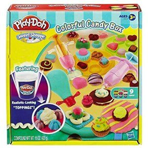 Hasbro Play-Doh Sweet Shoppe Colorful Candy Box